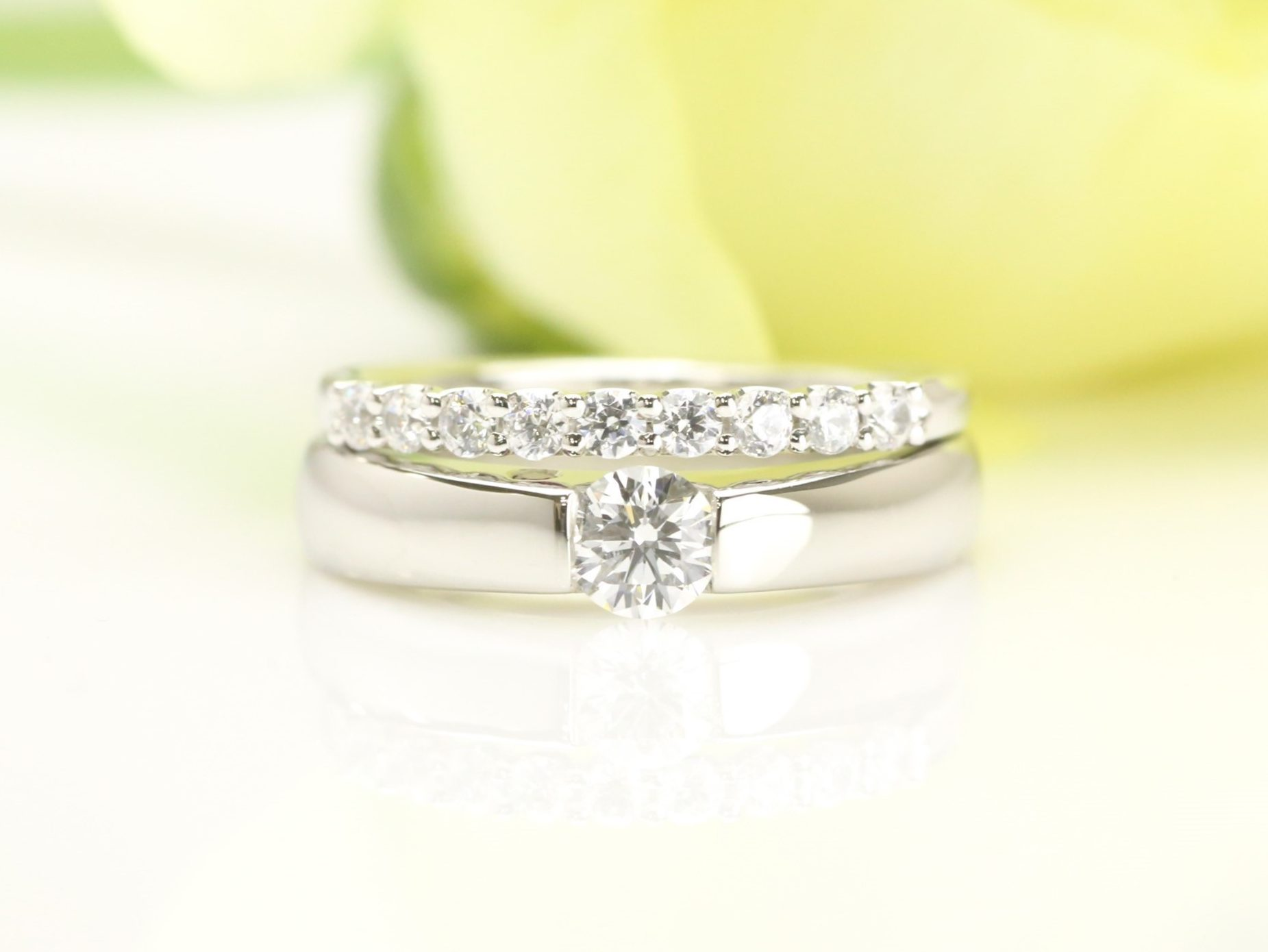 MARRIAGE RING & ENGAGEMENT RING2