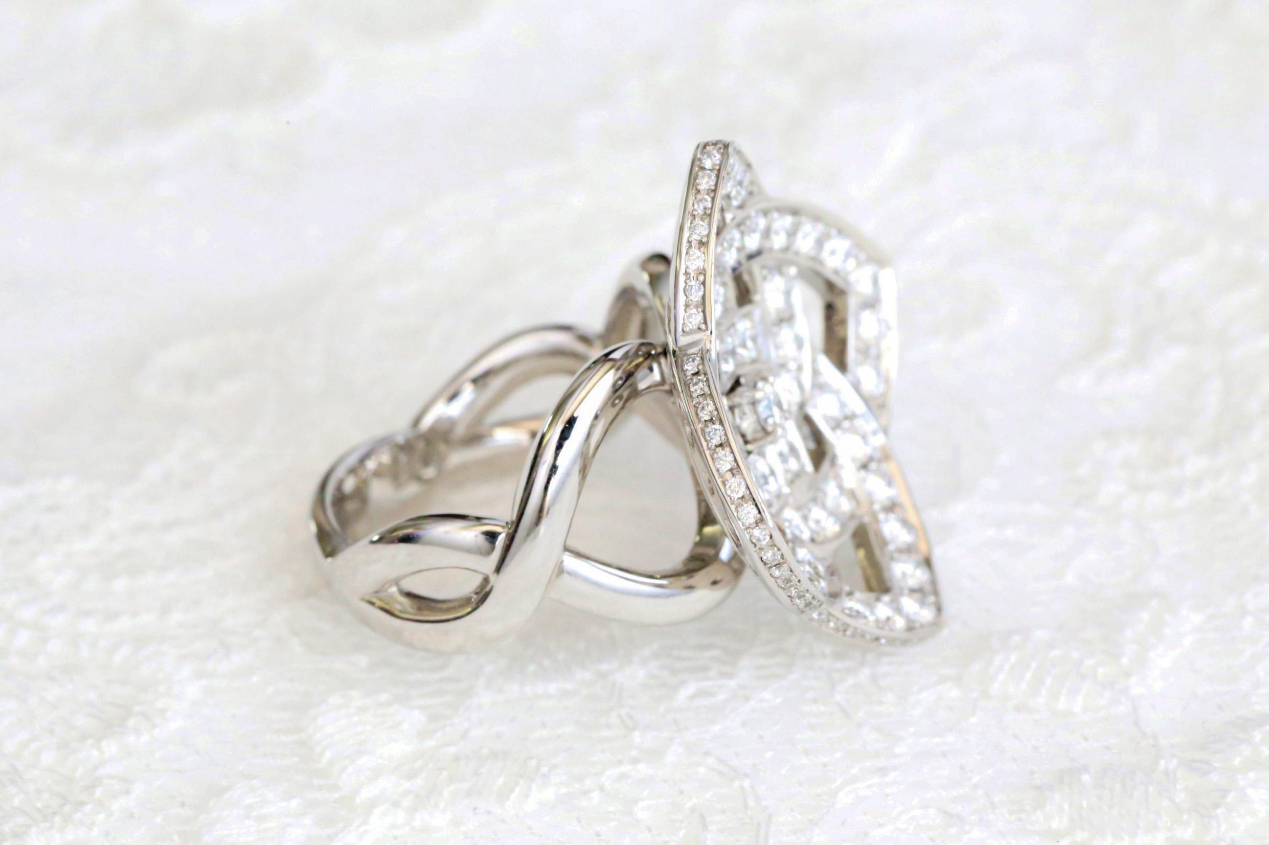 デザイナープロデュースのダイヤモンドリング
