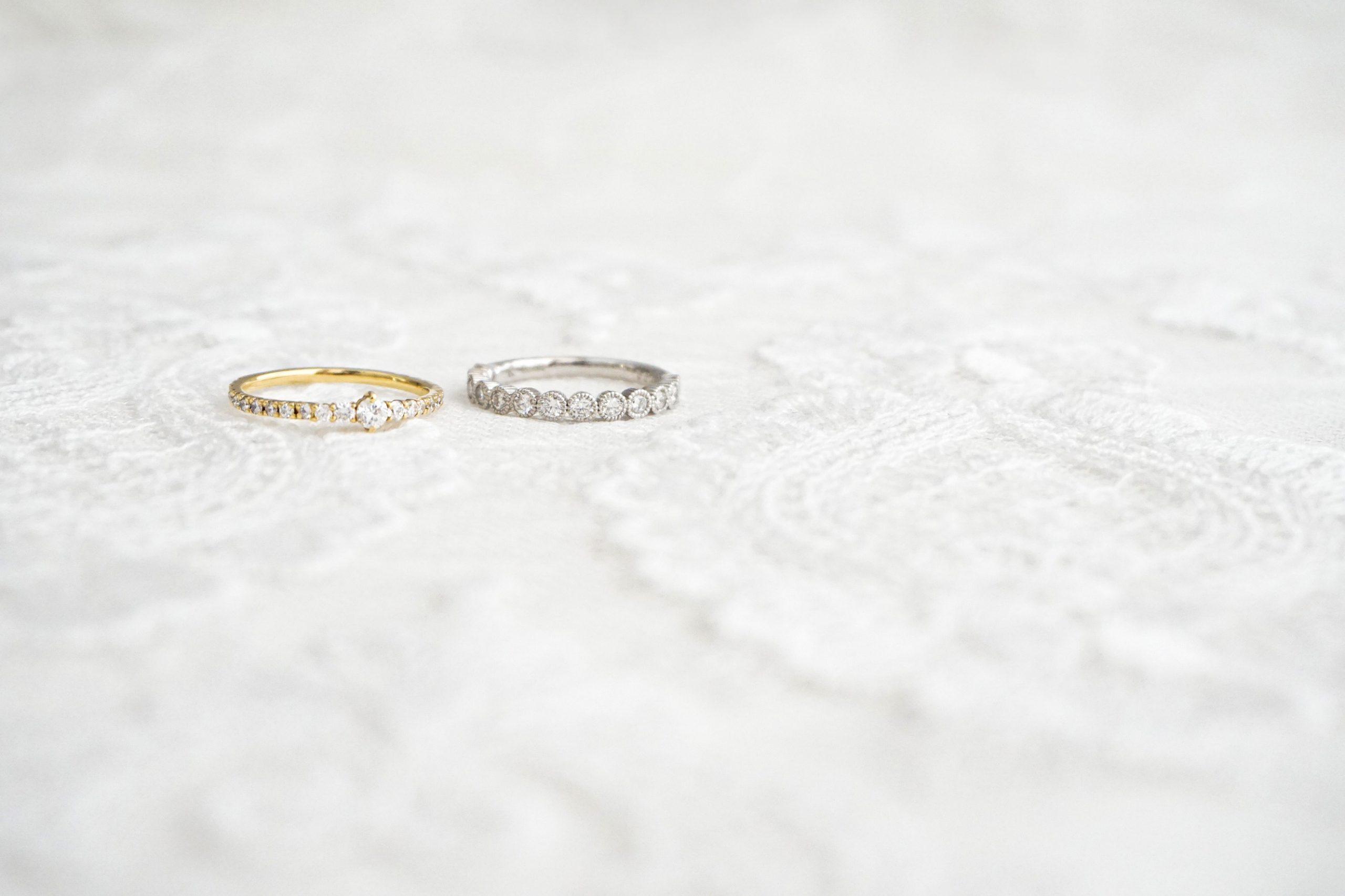 シンプルダイヤモンドリング