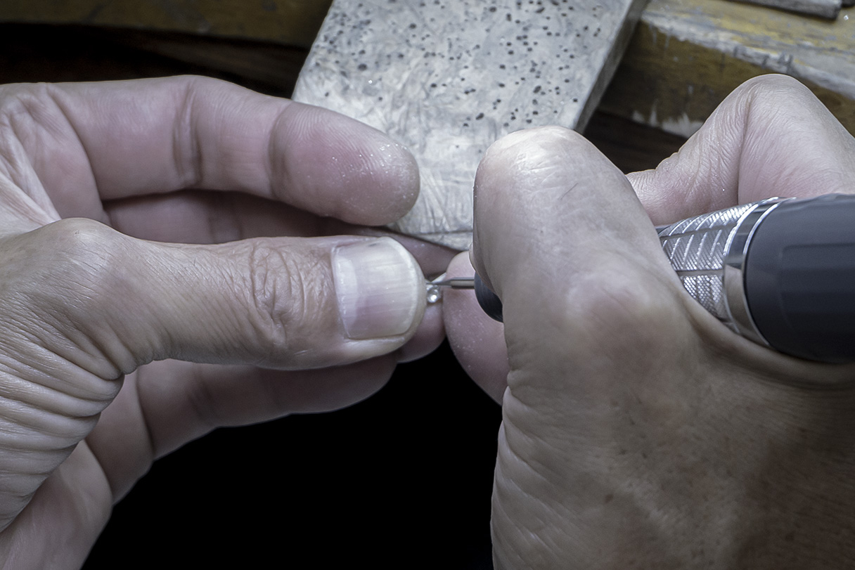 バロックパールリングの原型製作